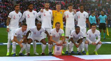 England team 2020